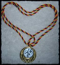 Medaille zur Fussball Mottoparty