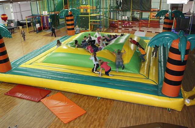 Kindergeburtstag auf dem Indoorspielplatz feiern