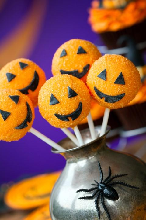Cake Pops für Halloween